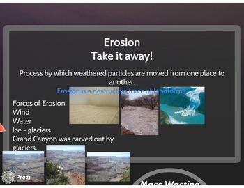 Weathering, Erosion, Deposition Prezi