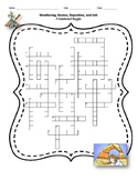 Weathering, Erosion, Deposition, & Soil Crossword Puzzle