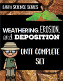 Weathering, Erosion, & Deposition Unit - Earth Science Series Bundle