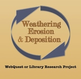 Weathering, Erosion & Deposition Webquest or Library Research