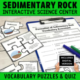 Sedimentary Rock Formation | Weathering Erosion and Deposition Puzzle Activity