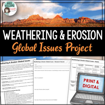 Weathering & Erosion - Global Issues Mini-Report