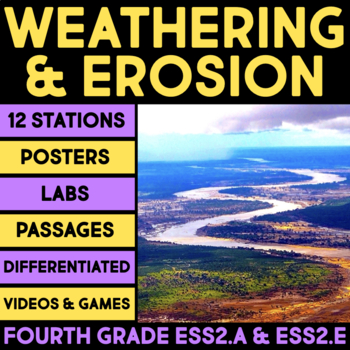 Weathering & Erosion - Earth Materials & Systems, Biogeology - 4th Stations