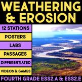 Weathering & Erosion - Earth Materials & Systems, Biogeology BUNDLE