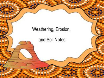 Weathering - Erosion - Soil PowerPoint