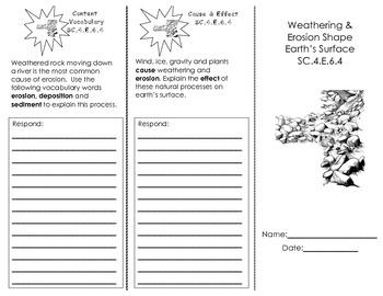 Weathering & Erosion Trifold