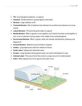 Weathering & Erosion Unit notes