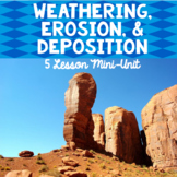 Weathering, Erosion, and Deposition: An Earth Science Mini-Unit