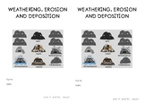 Weathering, Erosion and Deposition Booklet// Interactive S