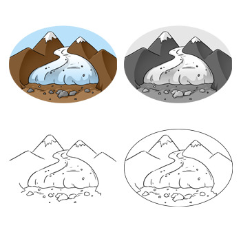 Weathering and Erosion Clip Art: Set 1 of 2