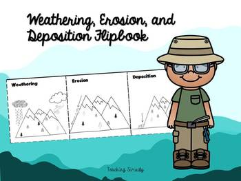 Weathering, Erosion, and Deposition Flip Book