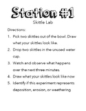 Weathering, Erosion, and Deposition Lab Instructions