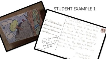 Weathering, Erosion, and Deposition Postcard Review Activity