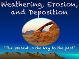 Weathering, Erosion, and Deposition PowerPoint