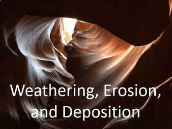 Weathering, Erosion and Deposition PowerPoint