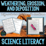 Weathering, Erosion, and Deposition - Science Literacy Article