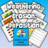 Weathering, Erosion, and Deposition Science and Literacy Lesson Set