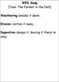 Weathering, Erosion, and Deposition Song