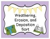Weathering, Erosion, and Deposition Sort