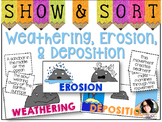 Weathering, Erosion, and Deposition Sorting Activity