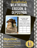 Weathering, Erosion, and Deposition - Sorting Activity