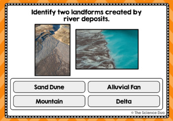 Weathering, Erosion, and Deposition Task Cards - Digital Boom Cards™