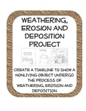 Weathering, Erosion and Deposition fun drawing Review Project