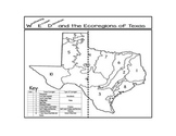Weathering, Erosion, and Deposition in the Ecoregions of Texas