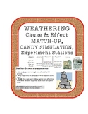 Weathering Experiments Stations, Definition Matching and Candy Simulation