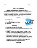 Weathering Lab - Dissolving Sugar
