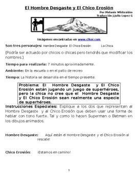 Weathering Man and Erosion Boy / El Hombre Desgaste y El Chico Erosión