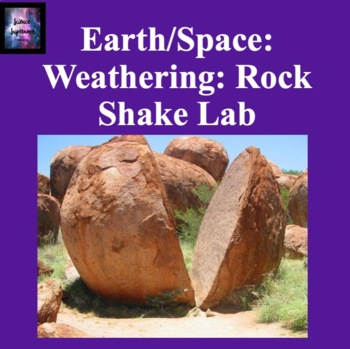 Weathering: Rock Shake Lab