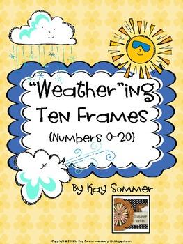 Ten Frames 0-20 {weather themed}