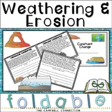 Weathering and Erosion Interactive Foldable Book