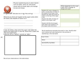 Weathering and Erosion Activity Sheet