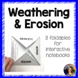 Weathering and Erosion Foldables