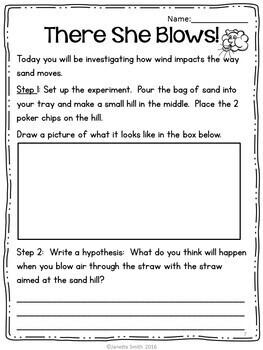 Weathering and Erosion:  Inquiry Based Mini-Unit