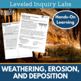 Weathering and Erosion Inquiry Labs