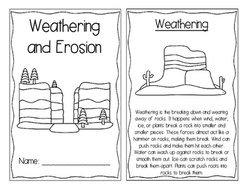 Weathering and Erosion Interactive Book