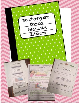 Weathering and Erosion Interactive Notebook