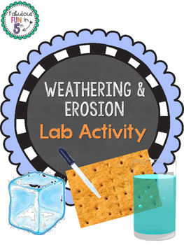 Weathering and Erosion Lab Activity