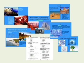 Weathering and Erosion PPT and Quiz