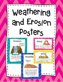 Weathering and Erosion Posters