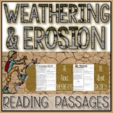 Weathering and Erosion Reading Passages