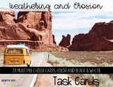Weathering and Erosion Scoot/ Task Cards