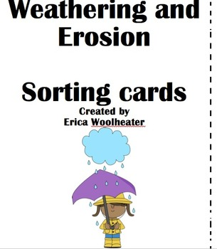 Weathering and Erosion Sort