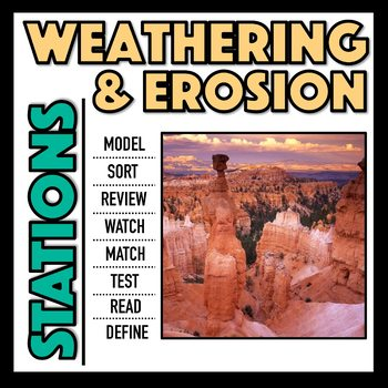 Weathering and Erosion Stations
