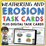Weathering and Erosion Task Cards