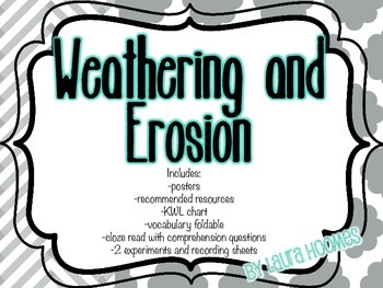 Weathering and Erosion Unit