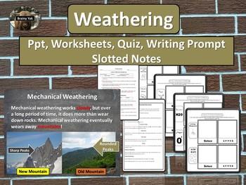 Weathering and Erosion Unit Bundle